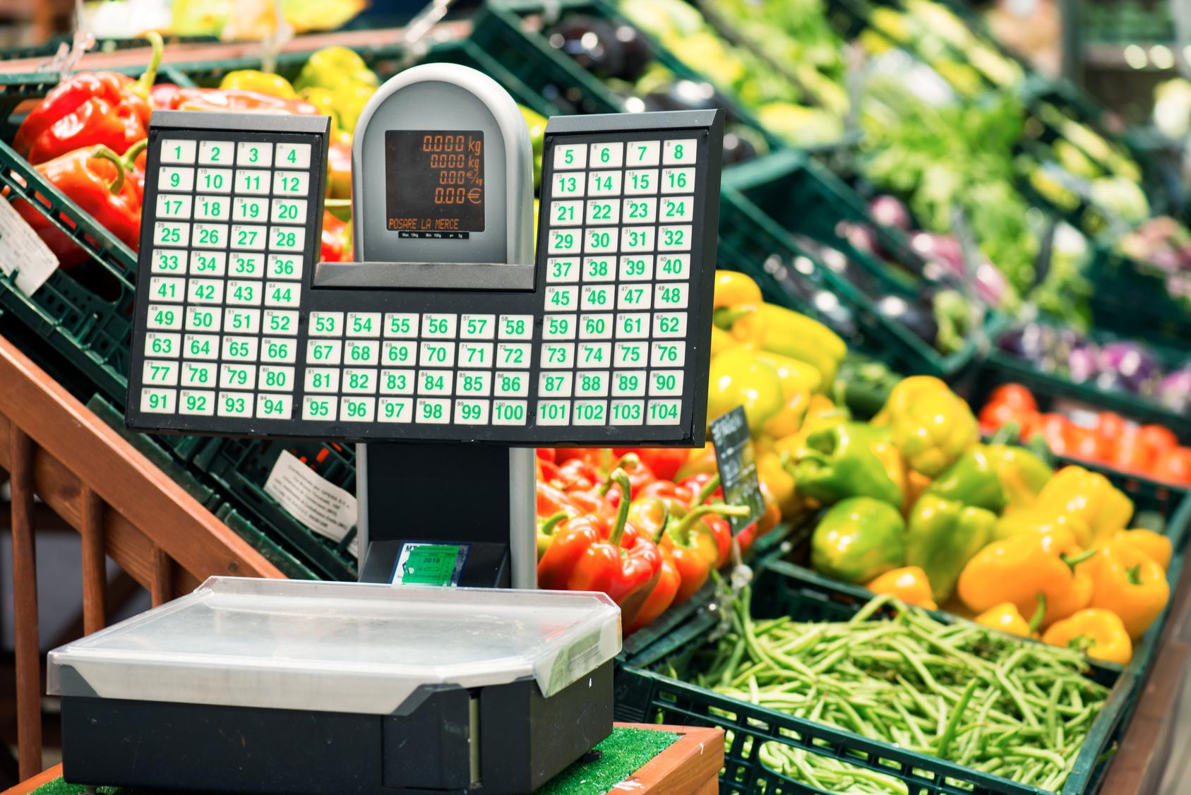Obst- und Gemüsewaahe